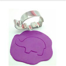 Stainless Steel Elephant Cute Cookie Cutter Cake Baking Practical Pastry Molds