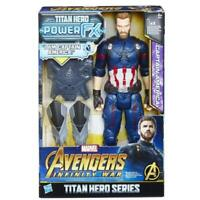 Hasbro E607 Marvel Avengers Infinity War PowerFX Actionfigur Captain America NEU