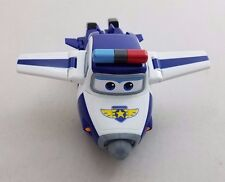 BJ BONG PAUL Auldey Super Wings Transforming Police Plane Airplane Toy Robot