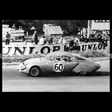 #pha.019944 Photo RENE BONNET AERODJET BASINI CHARRIERE 24 HEURES DU MANS 1964