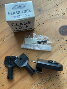 Glas-Vitrinen-Schloss, 2 Schlüssel,