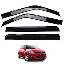For 12-16 Maruti Suzuki Swift Dzire 5 Door Visor Wind Shiled Rain Guard Protect