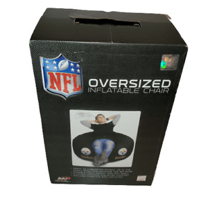 NFL Northwest Pittsburgh Steelers Oversized Inflatable Air Chair Black