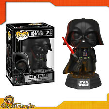 Funko Pop Star Wars Darth Vader 343 Lights e Sound Vinyl Figure