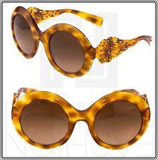 Dolce & Gabbana Spain in Sicily DG 4265 Blonde Havana Round Gradient Sunglasses