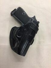 Premium Leather Belt Holster WALTHER PPK, PPK/S   - (# 7075 BLK)