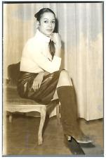 Sylviane Siobude, ballerine à Paris  Vintage silver print Tirage argentique