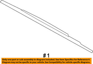 FORD OEM-Wiper Blade GU2Z17V528N