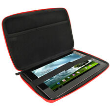 "Red EVA Travel Hard Case Cover Bag for Various Asus Transformer 10.1"" Tablets"