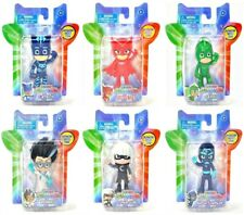 "Disney PJ Masks Catboy Gekko Luna Girl Night Niinja Owlette Romeo 3"" Figure Set!"