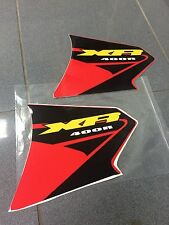 HONDA XR400 XR 400 XR FUEL TANK DECALS STICKERS GAS DECALS GRAPHICS RIGHT & LEFT