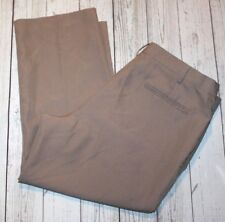 Men's Haband's Fit Forever Pants Mens Habands Size 40 Short Tan Haband