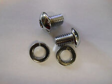 New Chrome Seat Mount Bolts 1984-2007 Softail Harley-Davidson