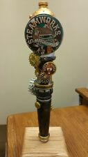 "STEAMWORKS JASMINE IPA STEAMPUNK 11-3/4"" Beer Tap Handle"