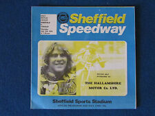 Speedway Programme - Sheffield v Cradley Heath - 12/7/79