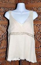 Women's Antonio Melani Antique Boutique Caroline Silk Camisole To - Size 12 -NWT