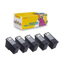 Compatible 5Pcs CN594 Black (Series 11) Ink Cartridge for Dell V505 A948