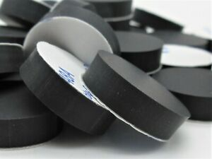 """Rubber Spacers. Round Silicone. 3/4"""" Dia. X 3/16"""" Thick. 3M Adhesive Back."""