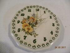 Vintage Byron Molds Ceramic Wall Clock