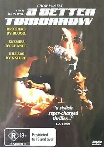 A Better Tomorrow : RARE : Stylish super-charged thriller : Chow Yun Fat : R18+
