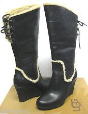Ugg Emilie Black Women Boots US9.5/UK8/EU40.5/JP262