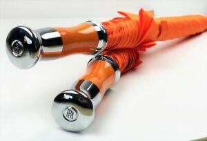 Rolls Royce Phantom Ghost Dawn Wraith & Cullinan Orange Umbrellas - Custom Made