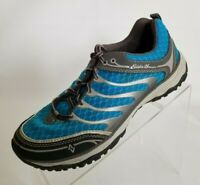 Eddie Bauer Sneakers Blue Gray Lace Up Hiking Exercise Womens Shoes Size 8.5