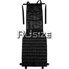Cordura Black Tactical Panel/Cover for Car Seat MOLLE/PALS/Alice Russian Airsoft