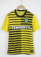 NIKE DRI-FIT CELTIC F.C. TENNENT'S Men's S Short Sleeve Football T-Shirt 24621-S