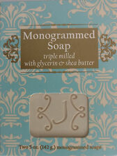 J Monogrammed Soap Triple Milled Glycerin Shea Butter