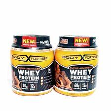 Body Fortress Super Advanced Whey Protein Powder, Gluten Free 2 Pound 2 PACK