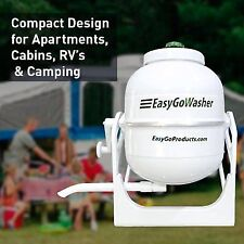 NEW EASYGO MANUAL HAND CRANK CLOTHES WASHER PORTABLE MOBILE