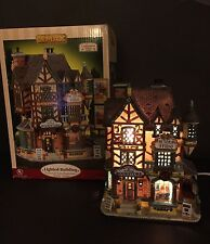 Lemax Caddington Village Wilson & Sons Bookstore Actors' Studio 2005 Lighted Blg