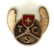 Distintivo T.C.S. Touring Club Svizzero (Locle Huguenin) cm.1,2