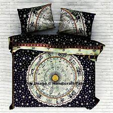 Indiano Astrologia Mandala Assestamento Copripiumino Hippie Coperta Consolatore