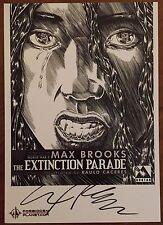 The Extinction Parade - Forbidden Planet Signed Mini Print - Avatar Comics