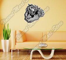 """Razorback Boar Fighting Cartoon Pig Gift Wall Sticker Room Interior Decor 22"""""""
