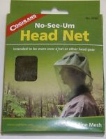 Coghlan's NO-SEE-UM Mosquito Head Net Camping Fishing Hiking 0160 Ultra Fine