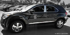 Chevy Equinox 2010 - 2013 Stainless Steel Quality 4Pc Chrome Pillar Posts