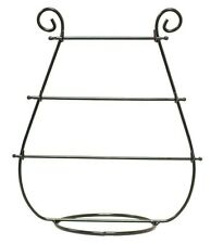 Harp Design Table Top Jewelry Bracelet Display Holder Black Metal Stand Necklace