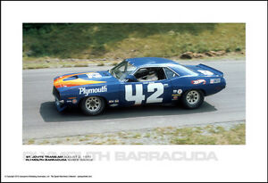 PLYMOUTH BARRACUDA SWEDE SAVAGE - ST. JOVITE TRANS-AM AUGUST 2, 1970 Car Poster