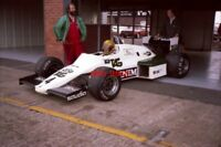 PHOTO  SWISS DRIVER URS EBERHARDT IN HIS F1 TAG SAUDIA WILLIAMS FW08C-11 COSWORT