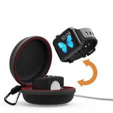 Para Apple Watch Serie 4 3 2 1 Portátil Cargador Dock Soporte de carga Estuche de viaje