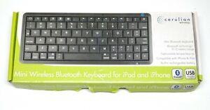 Cerulion | Mini Wireless Bluetooth Keyboard | Ipad IPhone Android