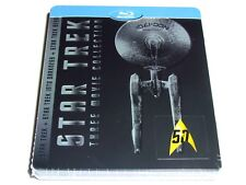 STAR TREK TRILOGY BLU-RAY STEELBOOK LIMITED EDITION IMPORT BEYOND INTO DARKNESS!