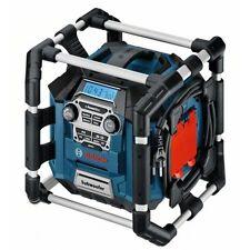 Radio Bosch GML 20 Baustellenradio MP3 UKW 230V, clic&go! 18V