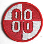 "Buckaroo Banzai Patch- 88 Red & White Logo 3"" Embroidered Patch (BZPA-06)"