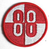 """Buckaroo Banzai Patch- 88 Red & White Logo 3"""" Embroidered Patch (BZPA-06)"""