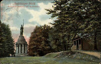 1911 Hiddesen Detmold Teutoburger Wald Hermannsdenkmal Bandelhütte Denkmal Park