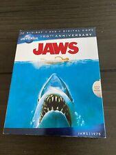 Blu-ray Movies Lot of 5 Used TOP GUN 3D Jaws- Shaun - Big Lebowski - hot fuzz